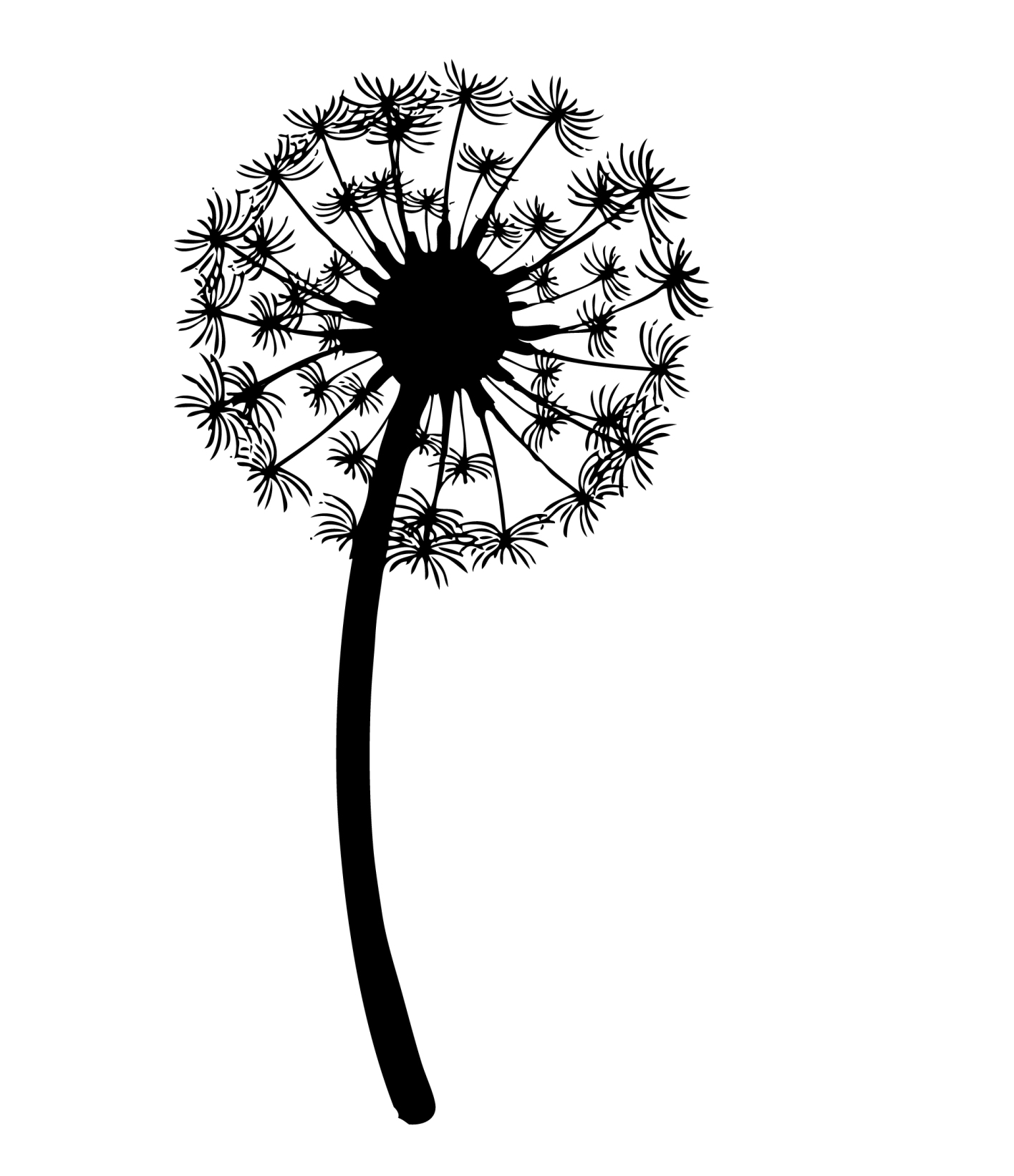 Blowing Dandelion Drawing At Getdrawings Free For Personal Use