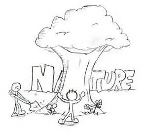 300x277 Save Environment Drawi, Drawing For Kids Save Nature