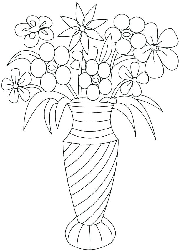 615x853 Printable Flower Coloring Pages Bluebonnet Flower Coloring Page