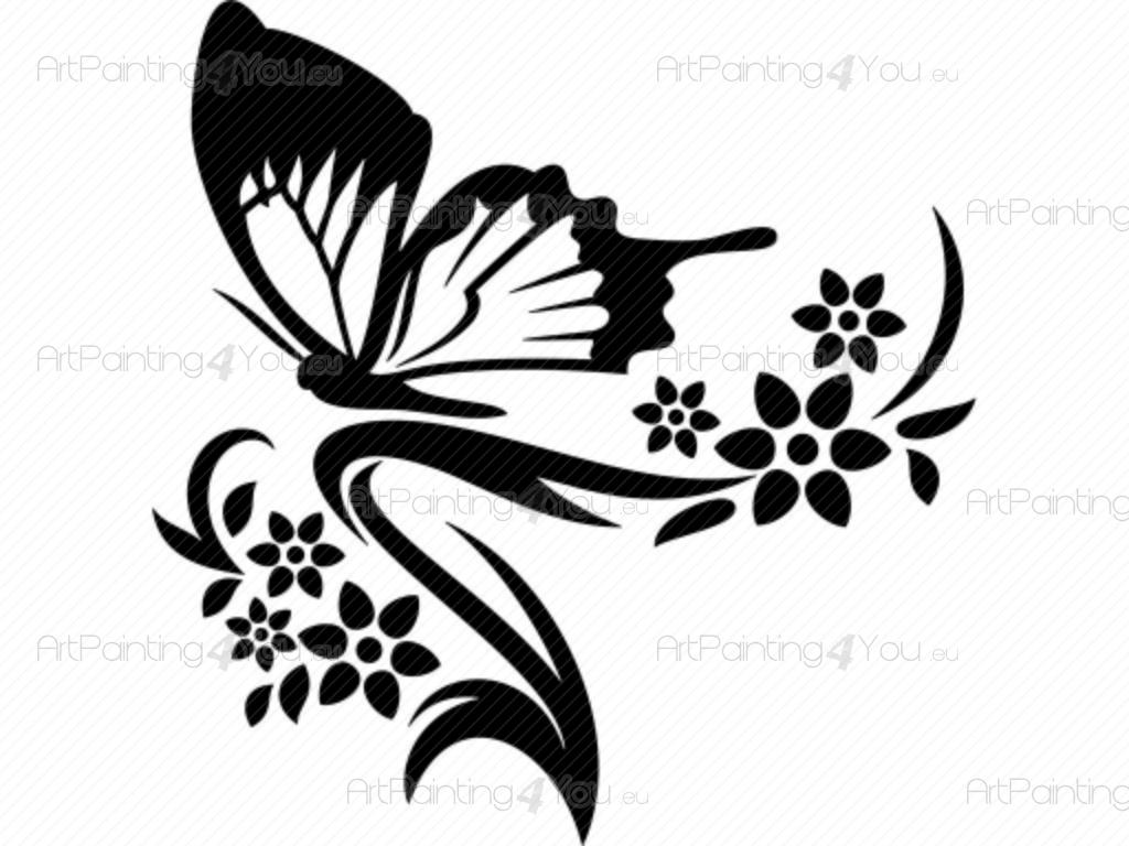 1024x768 Colors Blue Butterfly Wall Decals Together With Butterfly Wall