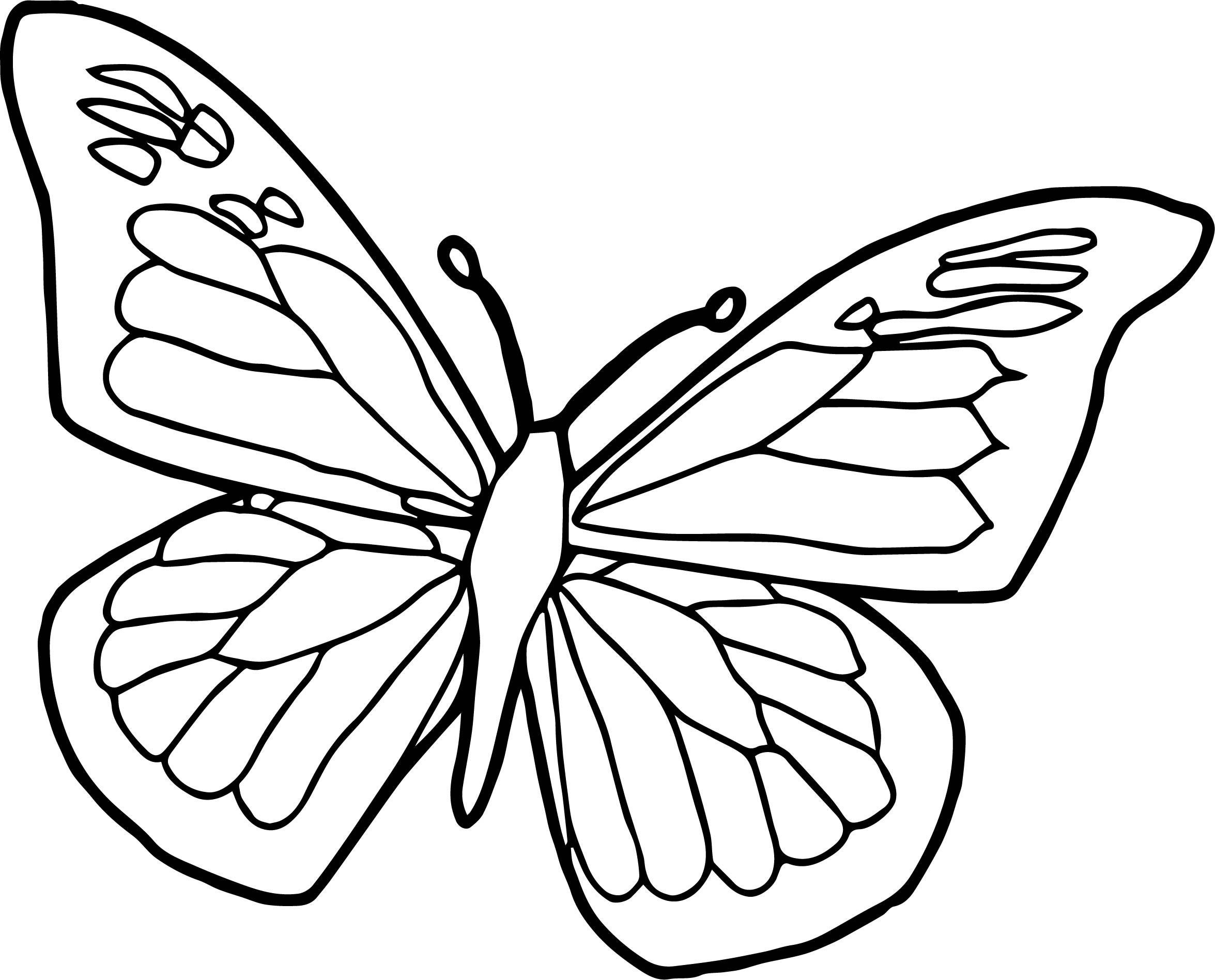2351x1896 Butterfly Coloring Page Elegant Blue Black Butterfly Coloring Page
