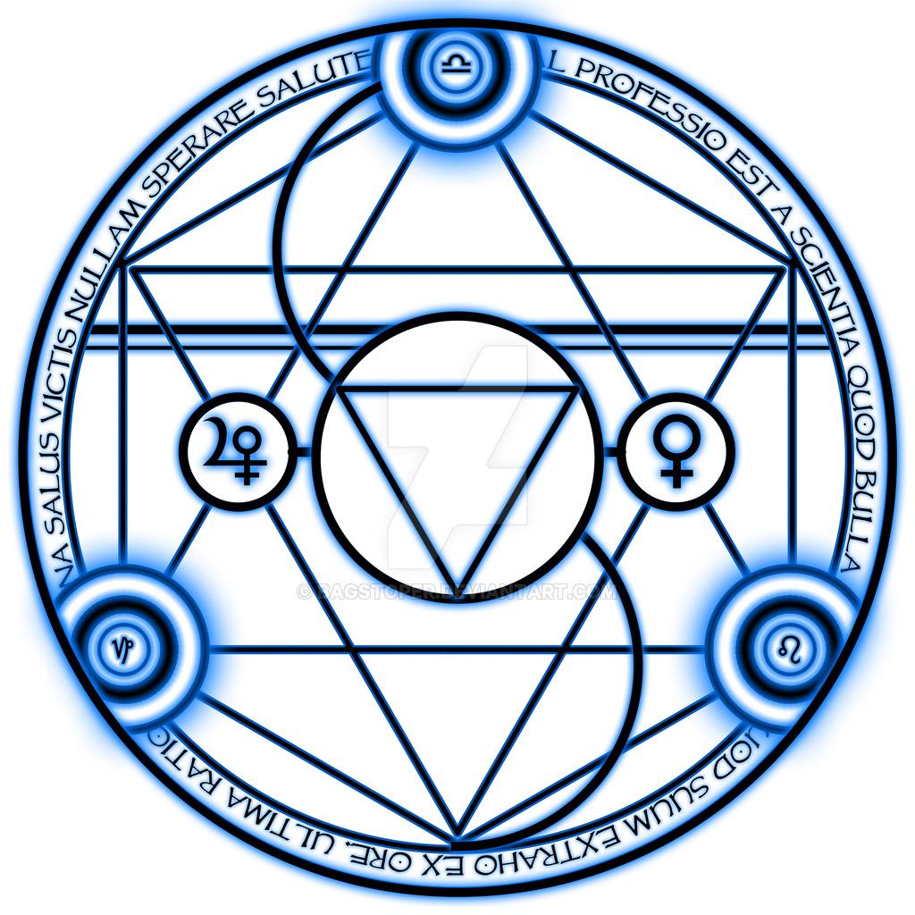 1024x1024 Bronze Transmutation Circle By Bagstoper