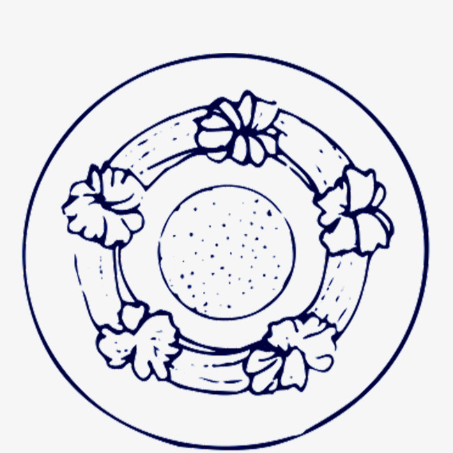 650x651 Ring Blue Border, Circular, Annular, Blue Circle Png Image