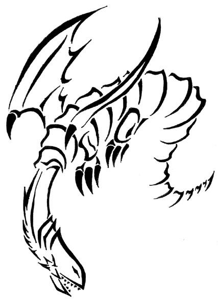 427x600 Blue Eyes White Dragon By Ragingchaosgod