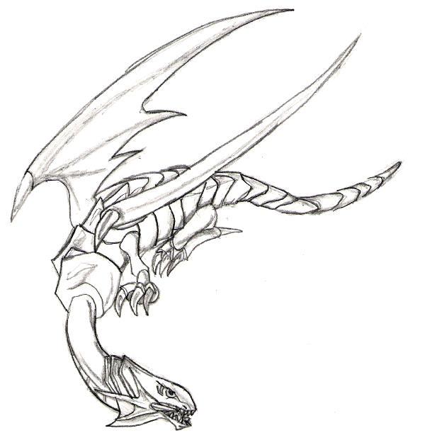 600x628 Blue Eyes White Dragon By Manga Inu Chan