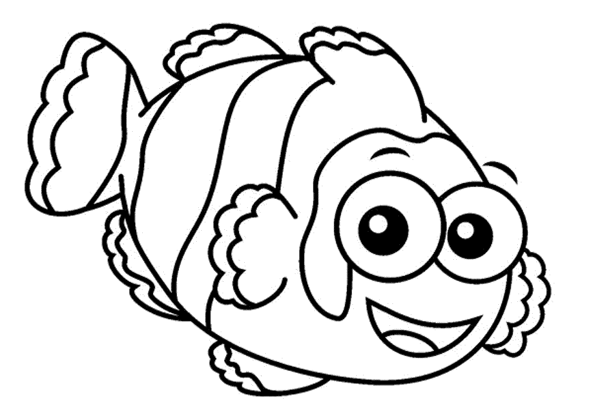 2000x1417 One Fish Two Fish Red Fish Blue Fish Coloring Pages