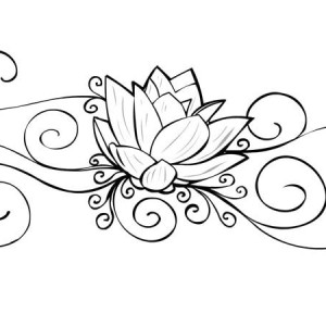 Indian lotus flower tattoo designs flowers healthy 300x300 lotus flower tattoo blue lotus flower drawing at getdrawings free for personal use mightylinksfo