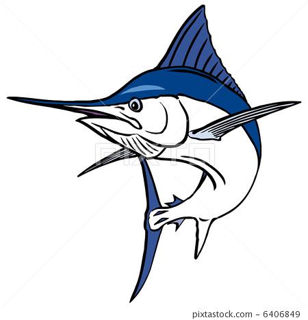 450x467 Blue Marlin, Black Marlin, Merlin
