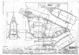 Blue Print Drawing