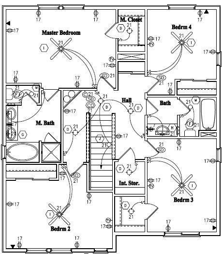 Amazing 459x524 House Blueprints