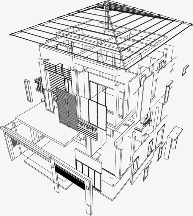 650x725 Housing Design Drawings, Design, Blueprint, Achitechive Png