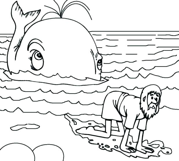 618x556 Whale Coloring Sheets