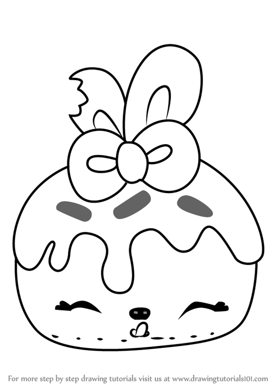 567x800 Learn How To Draw Bonnie Blueberry From Num Noms (Num Noms) Step