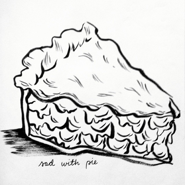 640x640 Sad With Pie