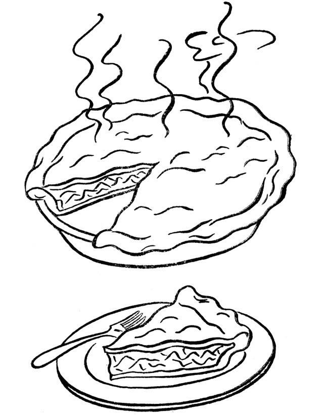 637x820 A Warm Piece Of The Pie Coloring Pages