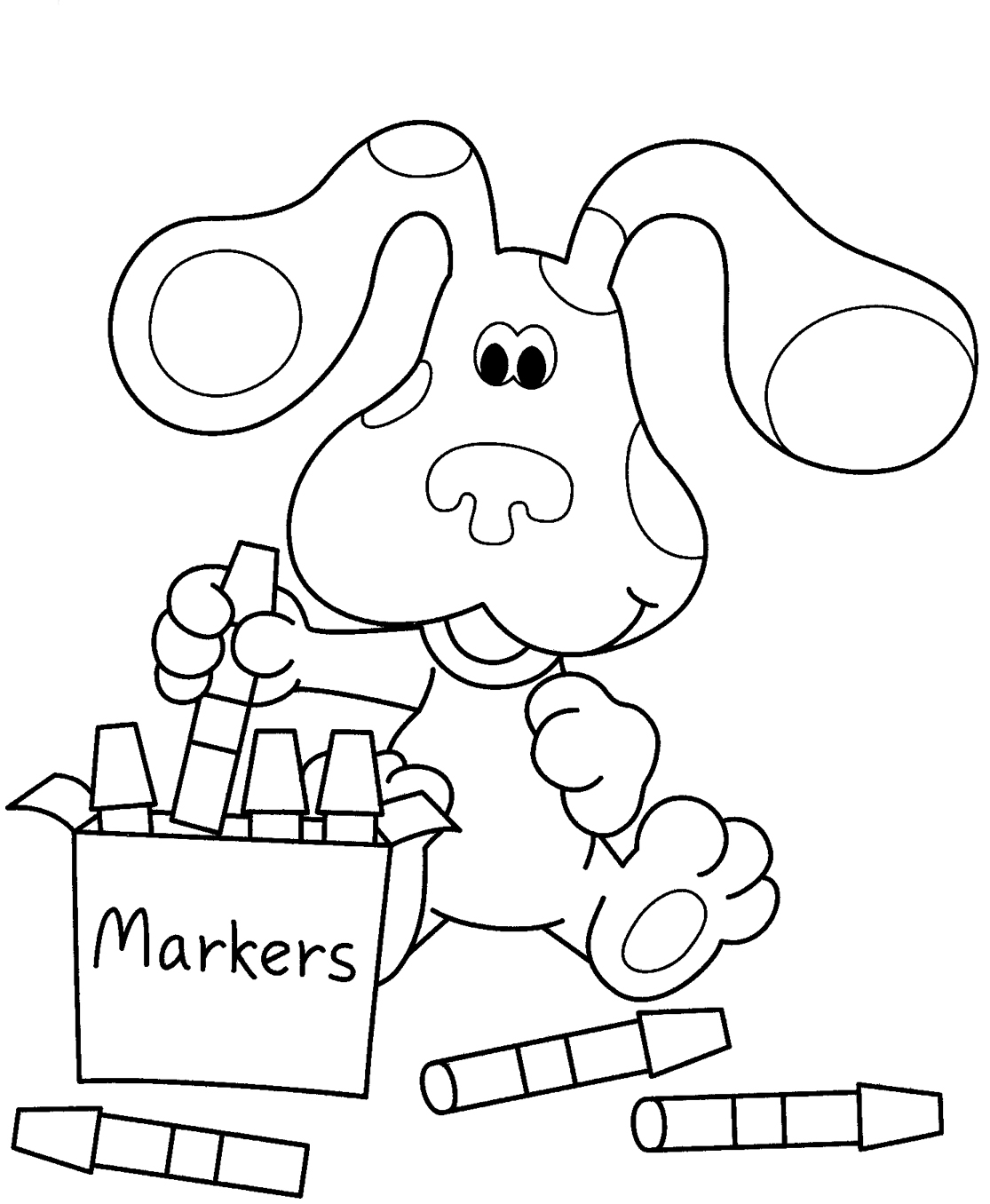 1115x1356 Blues Clues Coloring Pages Blues Clues Coloring Pages To Print