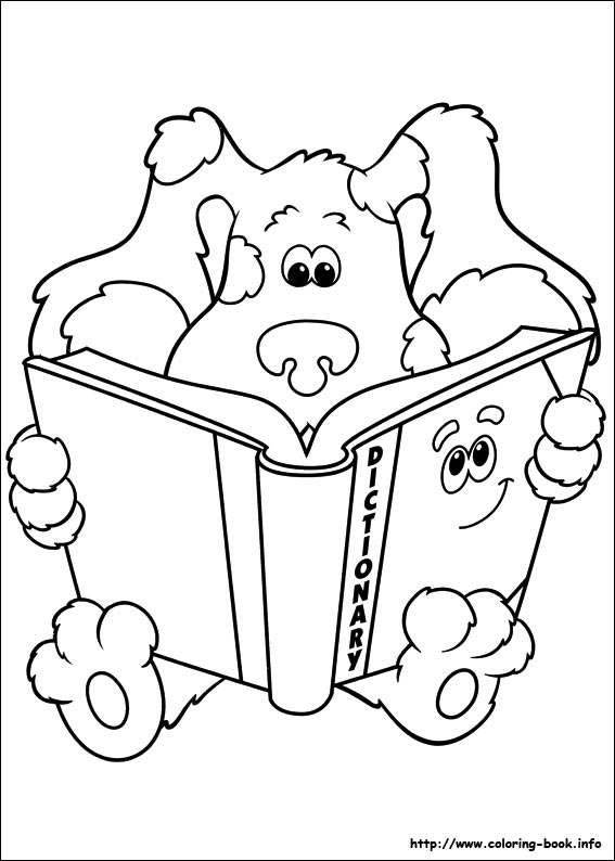 567x794 Clues Coloring Picture