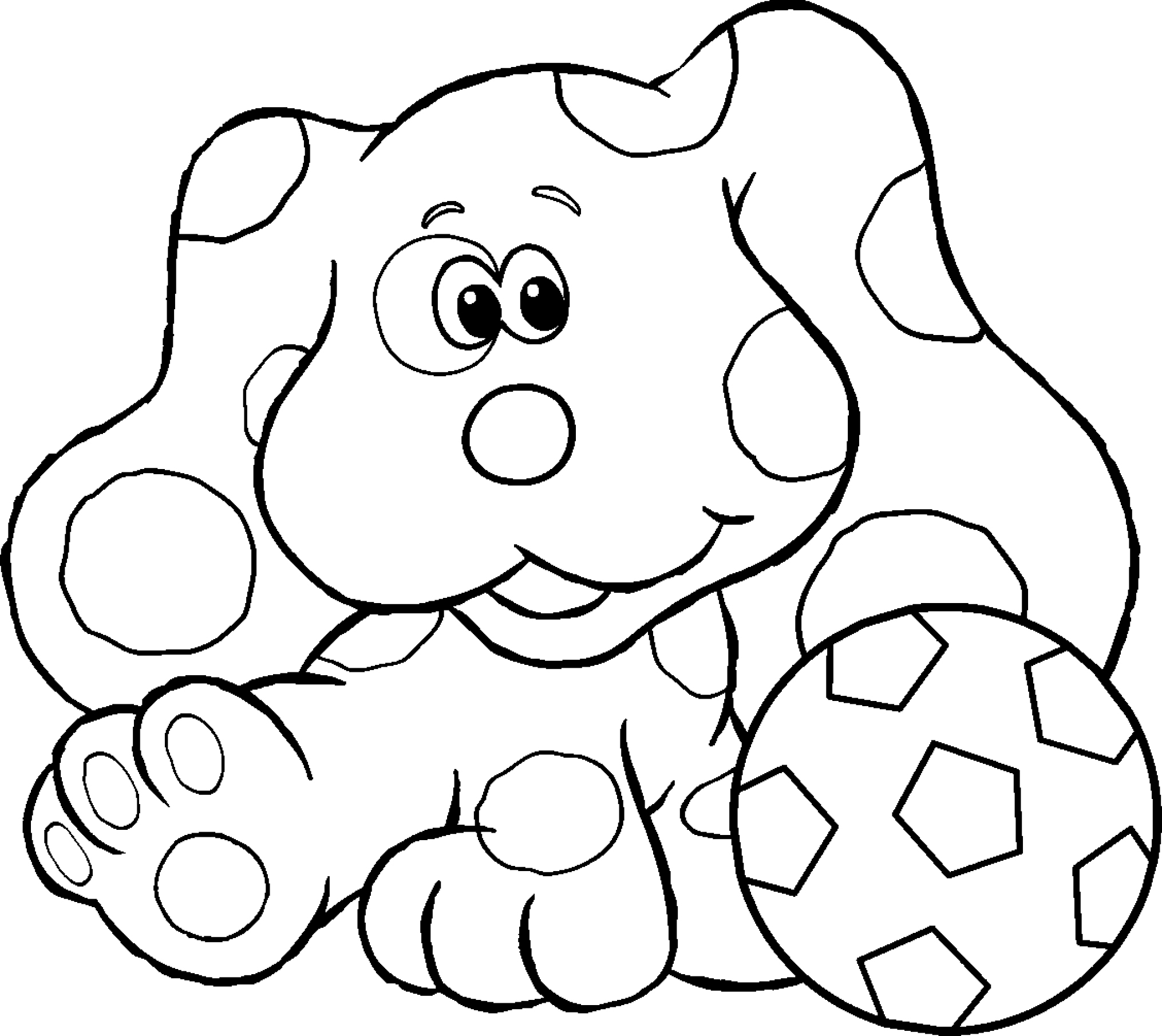 2030x1809 Coloring Pages Blues Clues Coloring Pages Blues Clues Printable