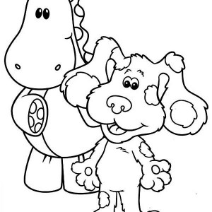 300x300 How To Draw Blues Clues Coloring Page Coloring Sun