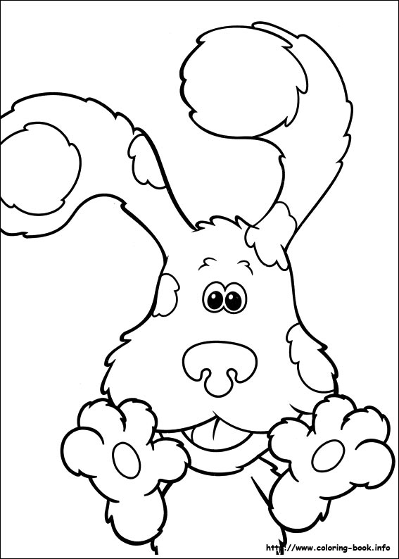 567x794 Luxury Blues Clues Coloring Pages 91 For World Coloring Page