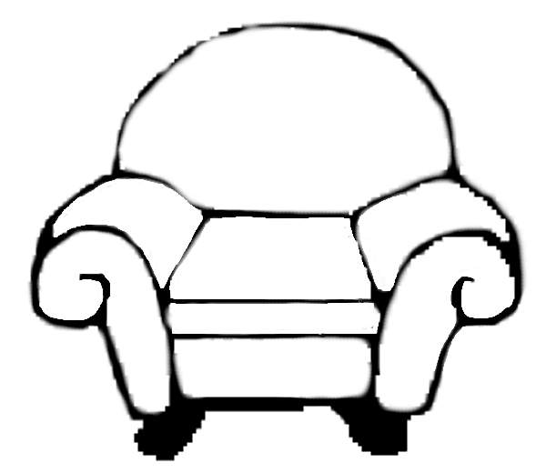 600x520 Mary's (More Or Less) Blues Clues Chair