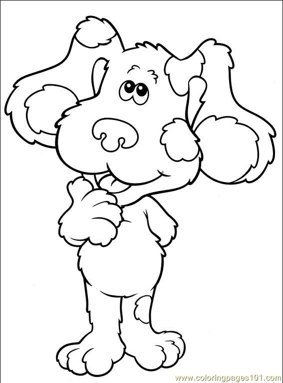 567x768 Blues Clues 001 (13) Coloring Page