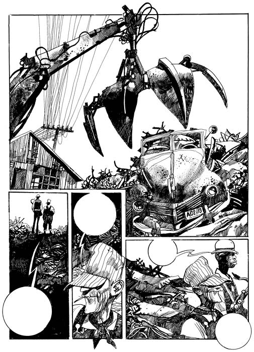 505x700 Blues Sergio Toppi Inks Comic, Illustrations