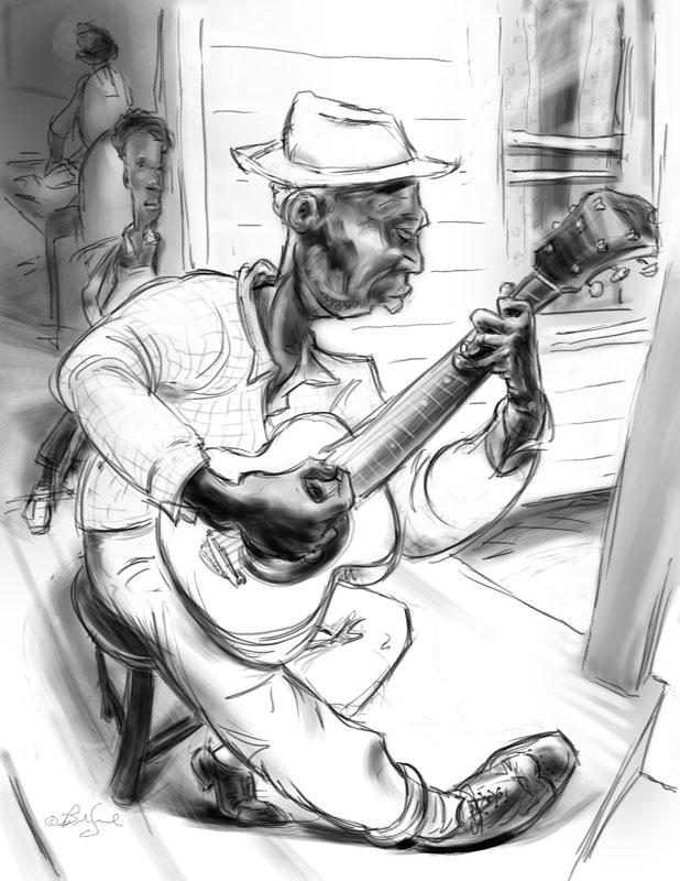 618x800 Front Porch Blues Brad Sneed