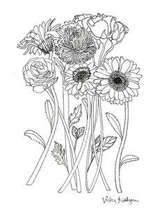 236x314 Leaf Print Mandala Blues.jpg My Illustrations Best