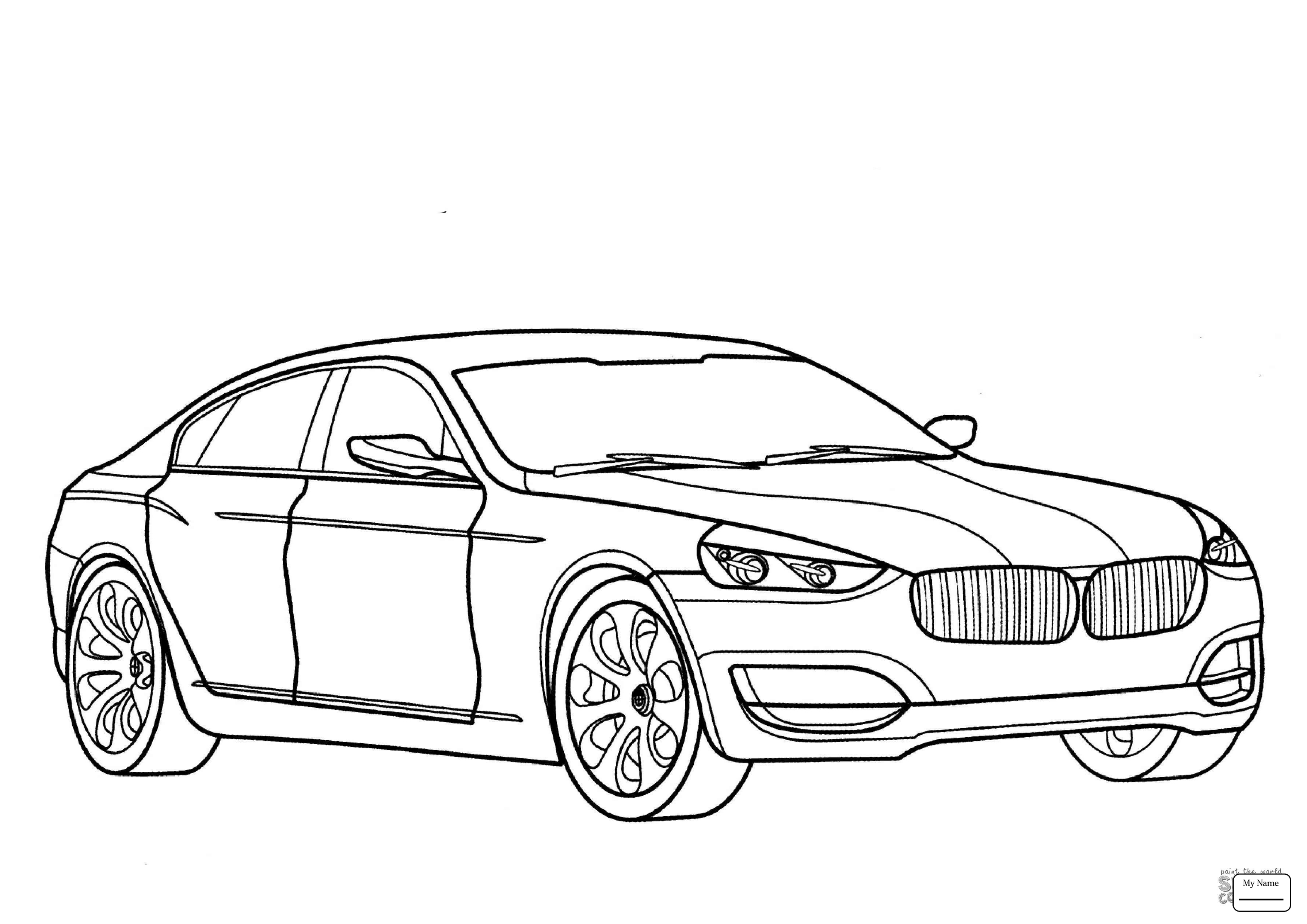 Bmw Car Drawing at GetDrawings.com | Free for personal use ...