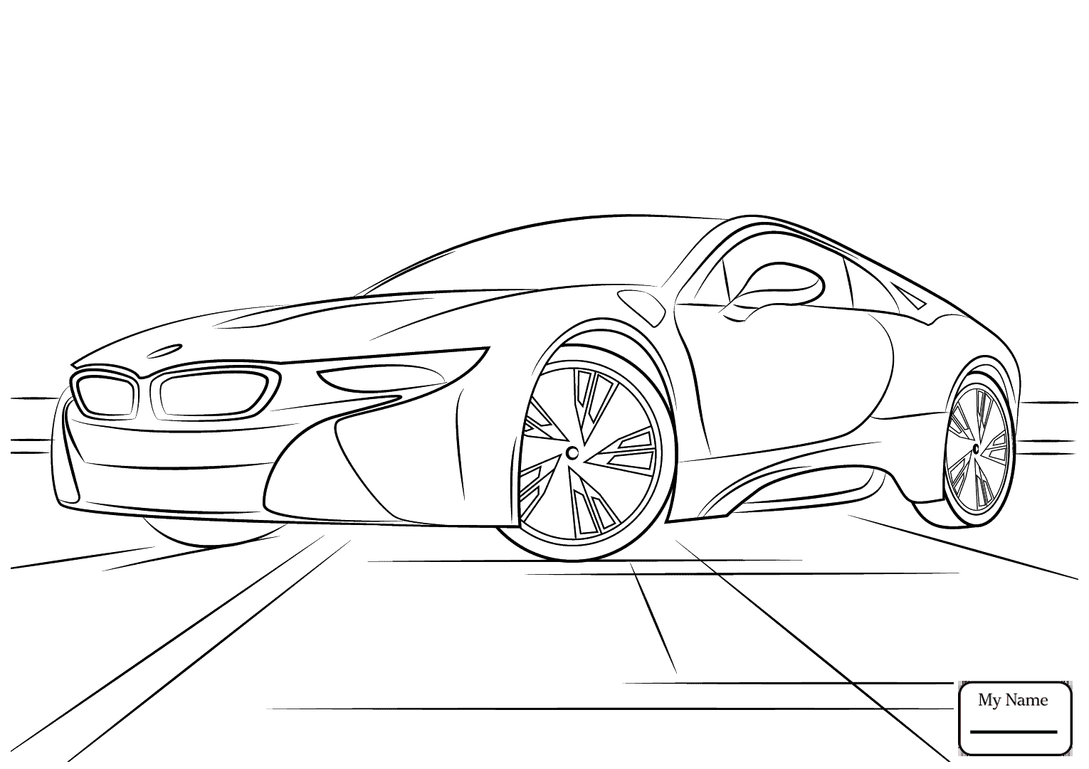 1530x1081 Coloring Pages Transport Bmw I8 Bmw