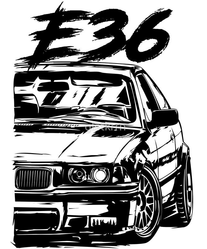 Bmw M3 Drawing At Getdrawings Com