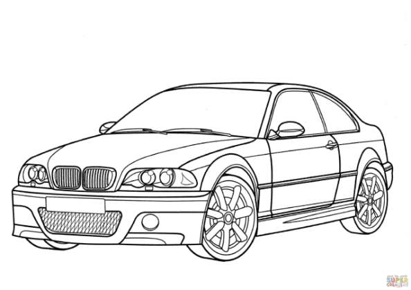 594x420 Tag For Coloring Page Of Bmw M3 Bmw Car Coloring Pages Home. M3