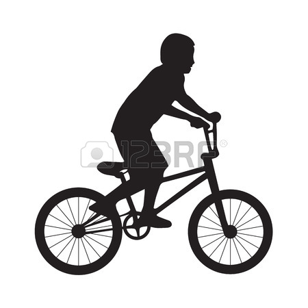 450x450 Hand Drawing Of An Yellow Bmx Bike Royalty Free Cliparts, Vectors