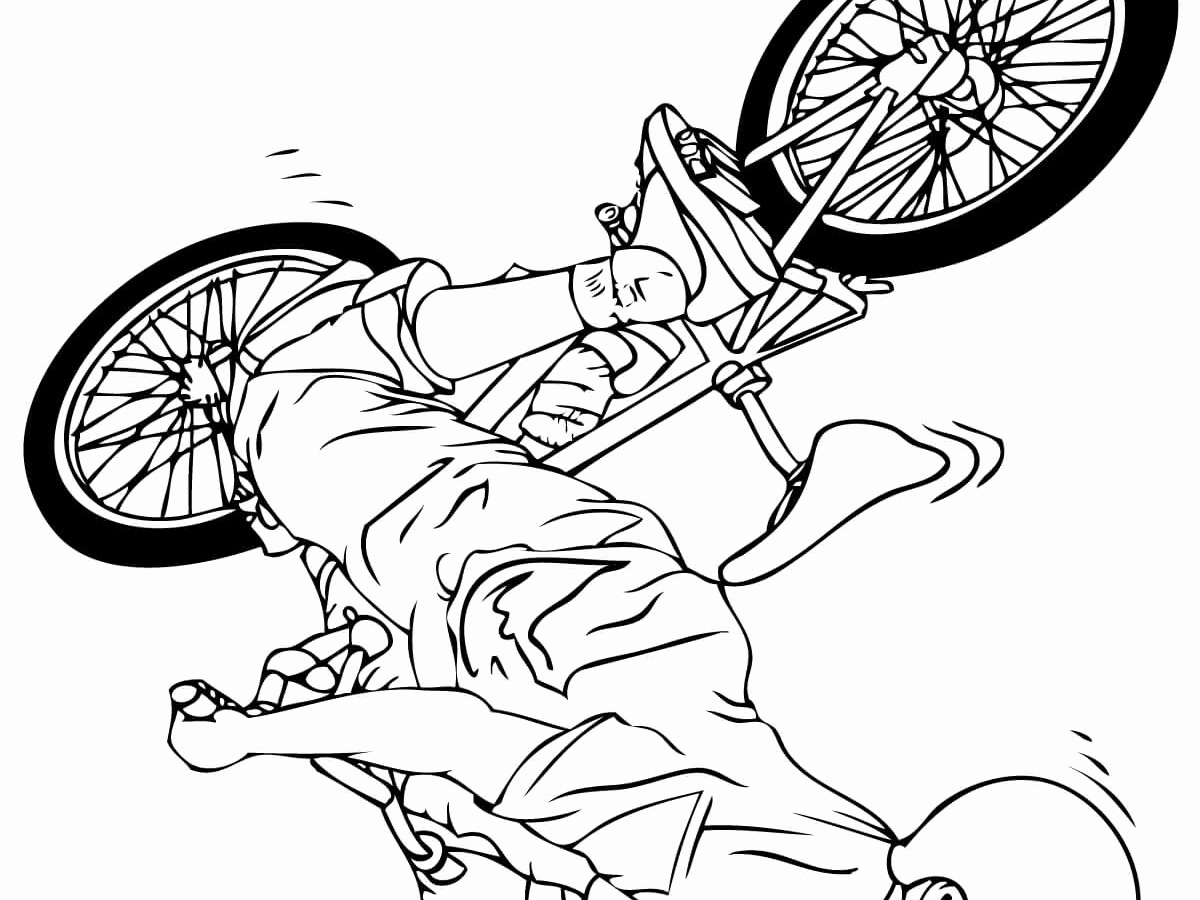 1200x900 50 Inspirational Photograph Of Bicycle Coloring Page