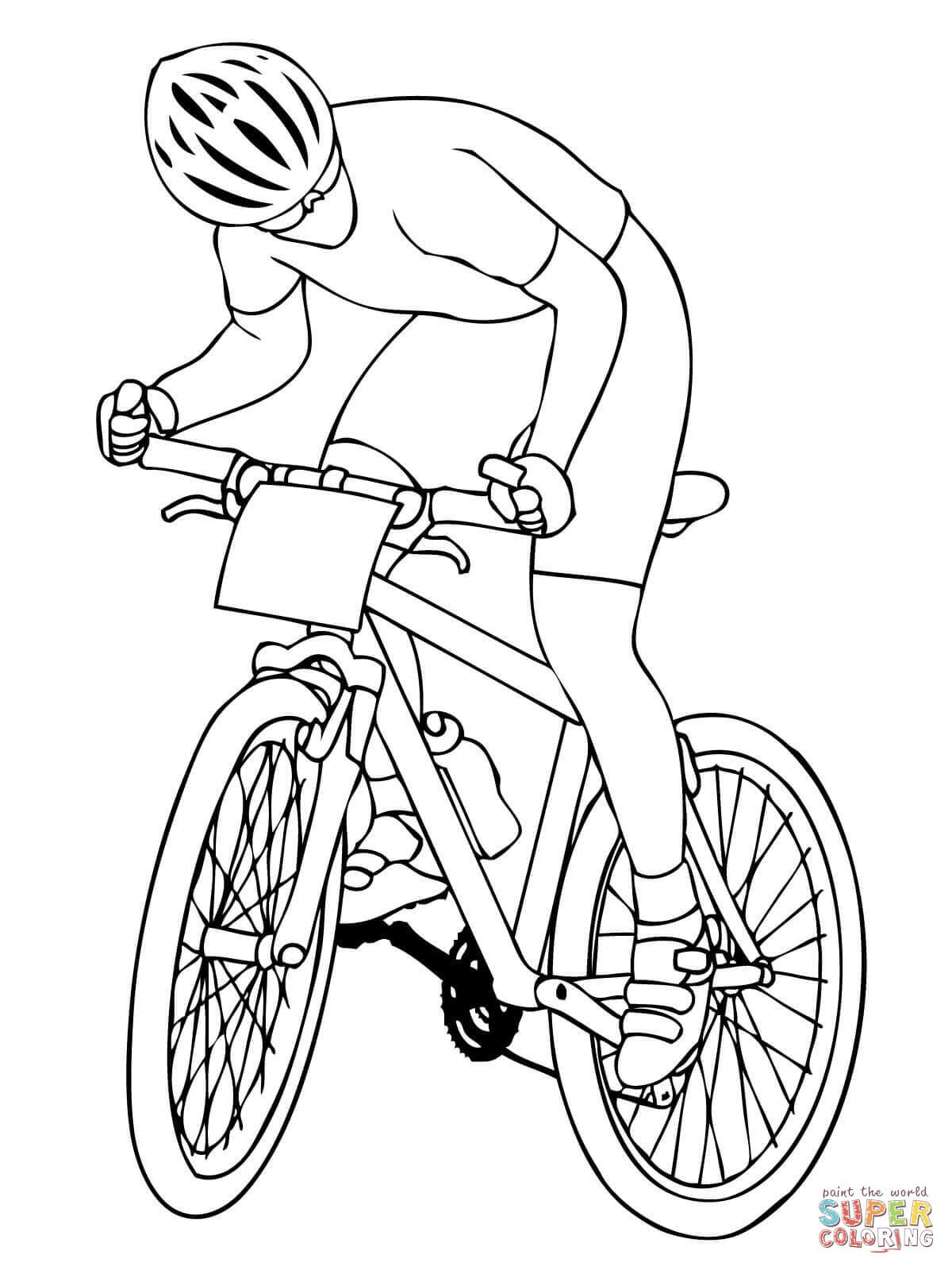 1200x1600 Bmx Bike Coloring Pages Free Draw To Color