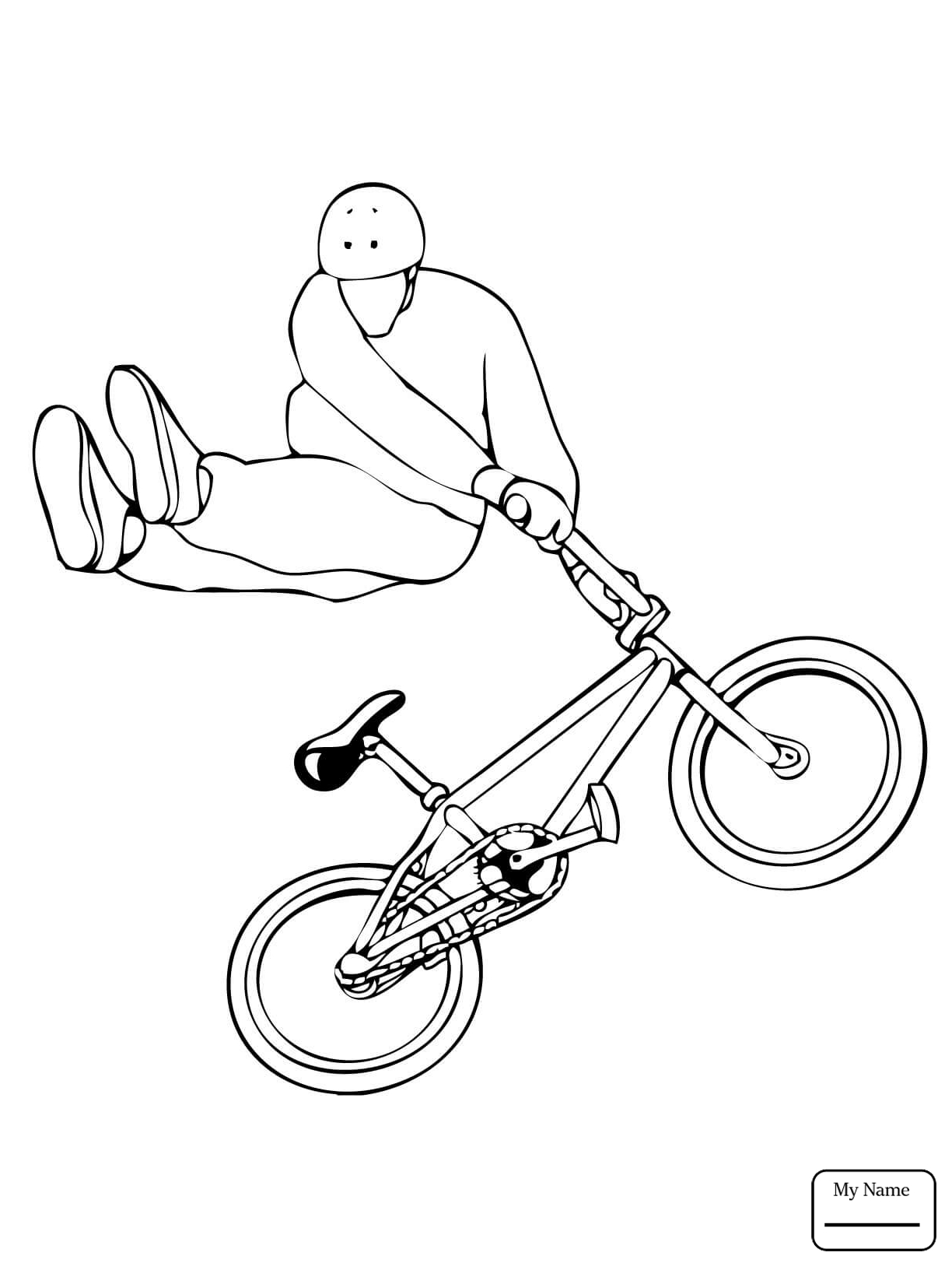 1224x1632 Bmx Coloring Page Coloring Home. Pin Drawn Motorcycle Bmx Bike 15