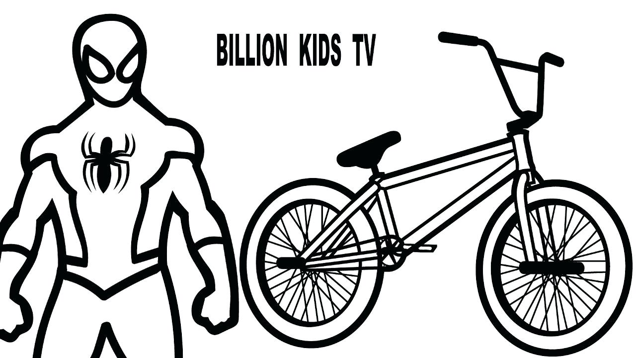 1280x720 Coloring Bmx Bike Coloring Pages Gallery For Drawing Sheets. Bmx