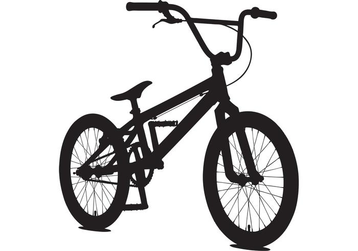 700x490 Bicycle Vector Sillouette Free Vector Art