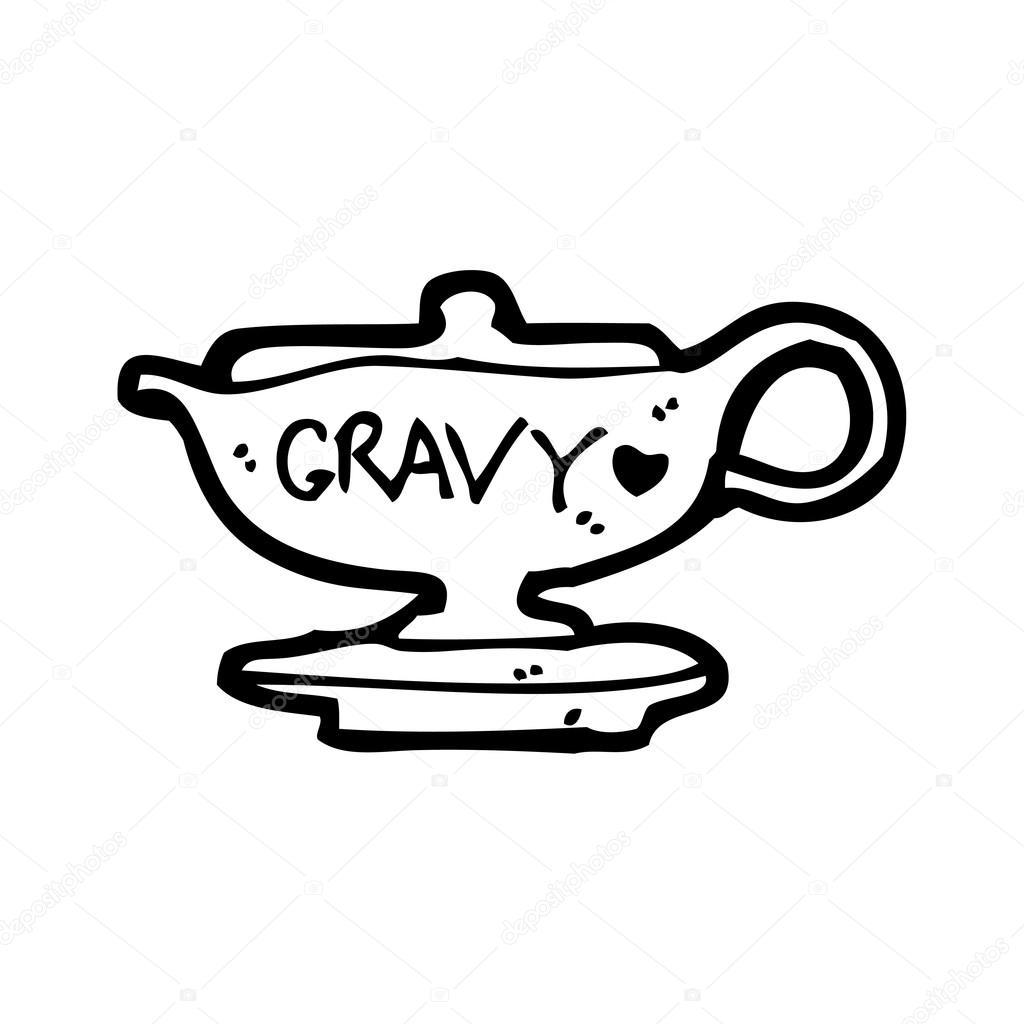 1024x1024 Gravy Boat Cartoon Stock Vector Lineartestpilot