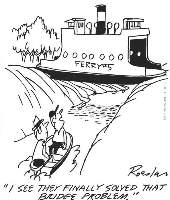 593x700 Boat Man River Cartoons