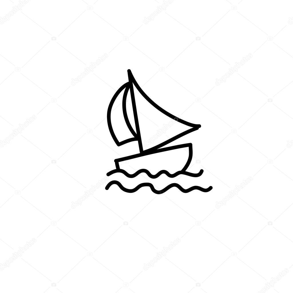 1024x1024 Boat Stock Vector Atthameeni