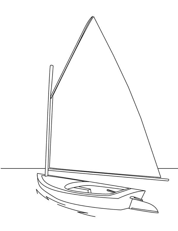 600x776 Sailing Boat Coloring Pages For Kids Batch Coloring