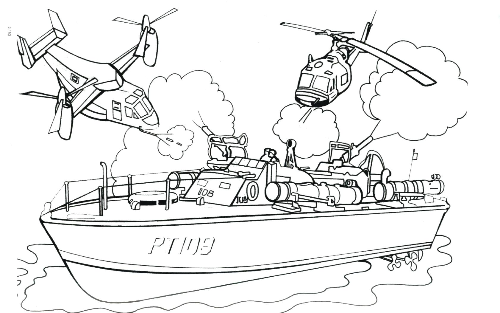 1680x1050 Coloring Boat Coloring Sheet