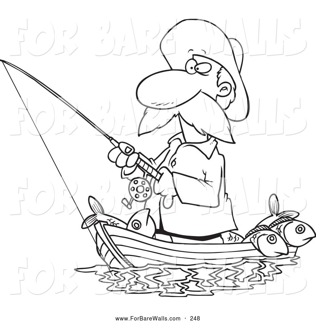 1024x1044 Fishing Boat Clipart Man Drawing