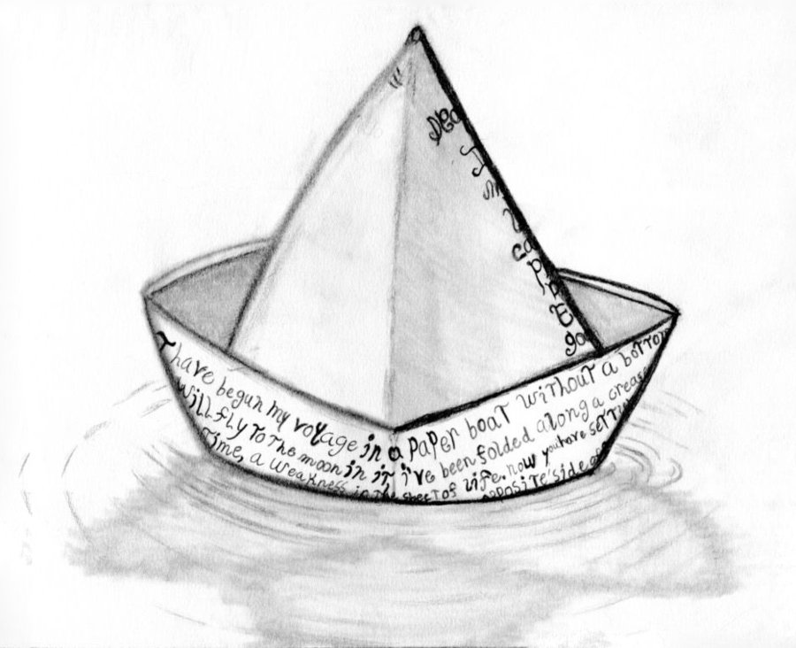 900x732 Paper Boat By Iconicthejam