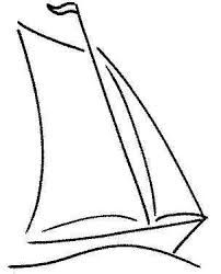Boat Drawing Simple