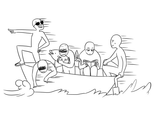 500x375 Add A Person In A Boat On Their Phone And A Person In The Water