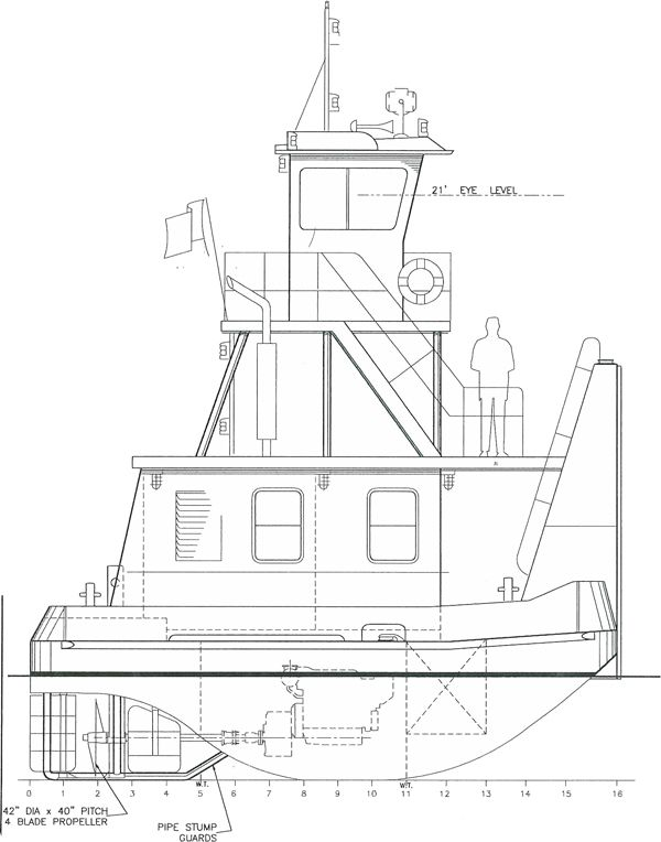 Row Boat Schematic