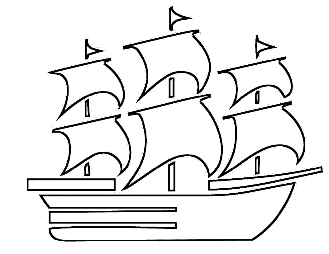 1056x816 Drawing Boat For Kids Drawing Boat For Kids Boat Coloring Pages